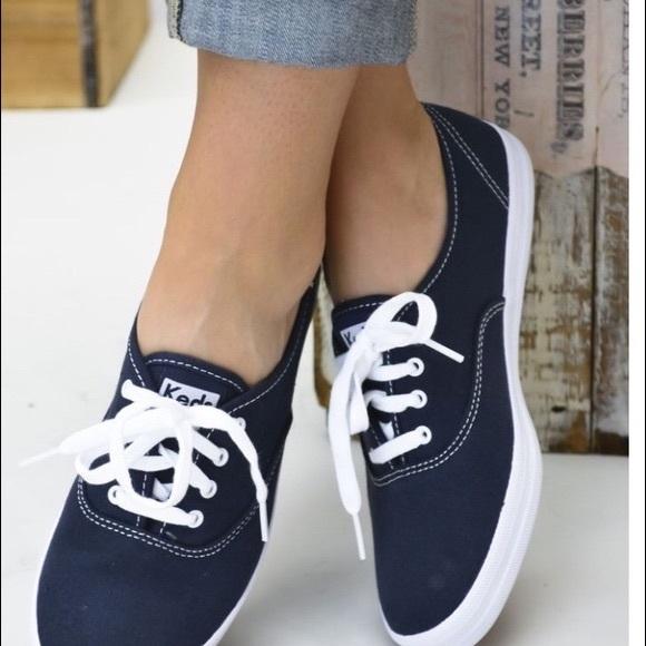 Keds Shoes | Navy Blue Keds Size 9 Worn